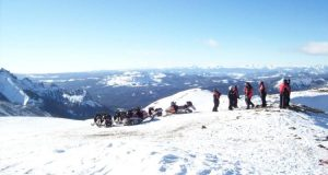 Continental Divide Snowmobiling Vacations