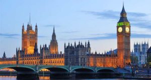 Attractions in London, UK