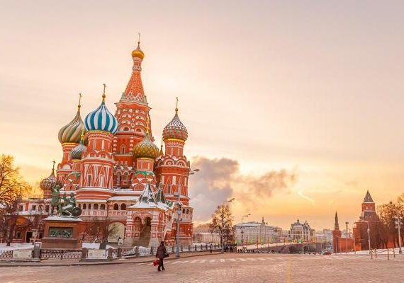 Take a Plunge Into the Russian Charm With Cheap Flights to Moscow